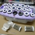 C08 富麗雅Fodia SY-20負離子陶瓷絨毛 專業電髮捲組(20入)