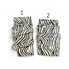 黑白斑馬系列合成皮剪刀包 4支裝