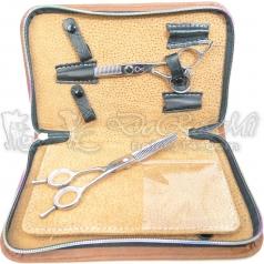 6支裝剪刀拉鍵包(皺皮)