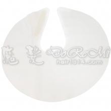 圓型頸部圍巾(白)