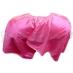環扣卡特圍巾─桃紅