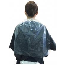拋棄式染燙髮用透明護領巾(長)