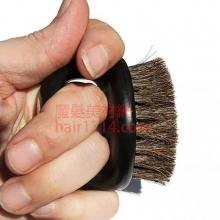 Irving barber 艾文專業漸層鬃毛刷 (棕色)