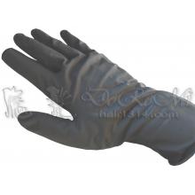 專業染髮用天然乳膠黑 雙運手套 20入