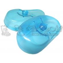 透明耳罩E-藍