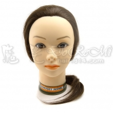 J02 20吋金底冠軍頭咖啡髮色/805 乙級包頭咖啡髮色