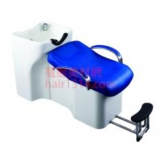 【沖水台】兩件式沖水台-藍白