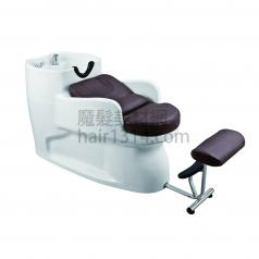 【沖水台】一體式沖水台/洗髮椅-黑白