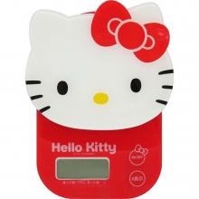 台灣製 Hello Kitty 經典臉型電子秤(最小單位1g)