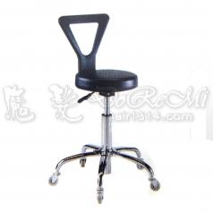 【營業剪髮椅】台製白金升降椅附椅背