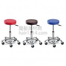 【營業剪髮椅】腳踏手動升降設計師椅