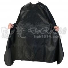 鬆緊綁帶珍珠圍巾─黑