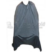 燙染圍巾/訂製圍巾-黑 (勾環)