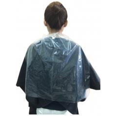 拋棄式染燙髮用透明護領巾(長)  1.9KG 份量加大