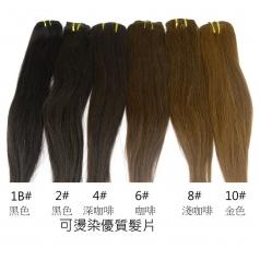 16吋 可燙染優質髮片組