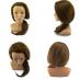 J02有肩膀20吋冠軍頭咖啡髮色/809 乙級包頭咖啡髮色(西方人臉)