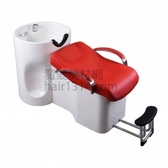 【沖水台】兩件式沖水台-紅白