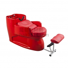 【沖水台】一體式沖水台/洗髮椅-全紅