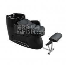 【沖水台】一體式沖水台/洗髮椅-酷黑