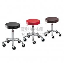 【營業剪髮椅】台製白金級升降設計師椅(大輪)