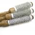 陶瓷導熱透氣原木圓梳
